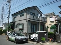 松戸市N様邸 屋根外壁塗装リフォーム前