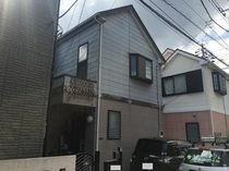 松戸市O様邸 屋根外壁塗装リフォーム前
