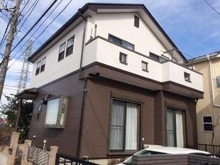松戸市N様邸 屋根外壁塗装リフォーム後