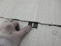 柏市F様邸 屋根外壁塗装リフォーム タスペーサー挿入