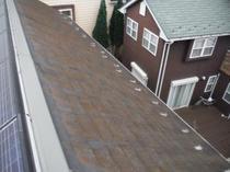 龍ヶ崎市K様邸 屋根外壁塗装リフォーム前3