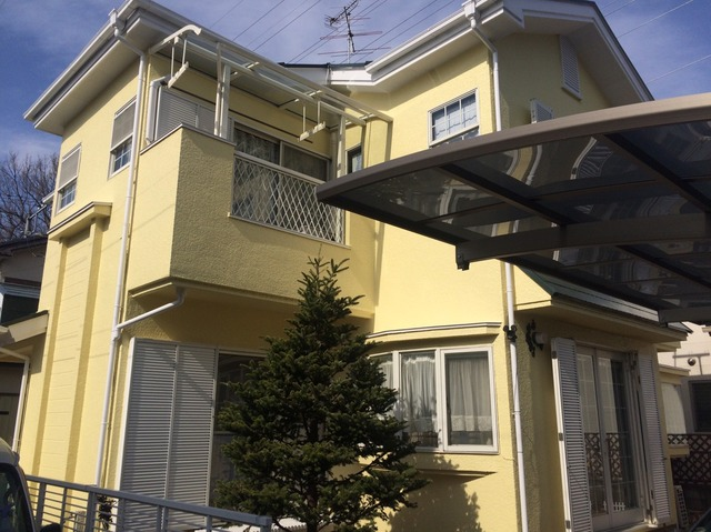 柏市F様邸 屋根外壁塗装リフォーム