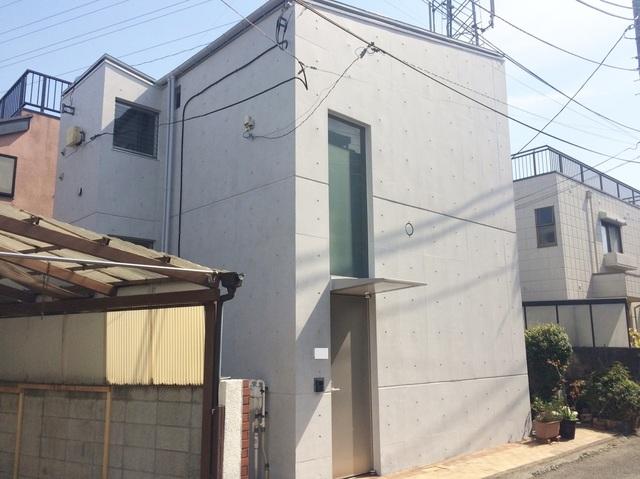 府中市T様邸 コンクリート再生塗装リフォーム