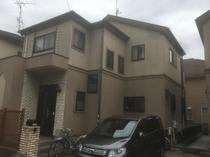 柏市F様邸 屋根外壁塗装・玄関ドアリフォーム前