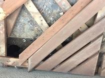 松戸市O様邸屋根カバー・外壁金属サイディング施工前3