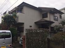 松戸市O様邸屋根カバー・外壁金属サイディング施工前