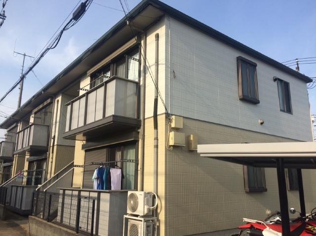 流山市S様所有アパート 屋根外壁塗装リフォーム