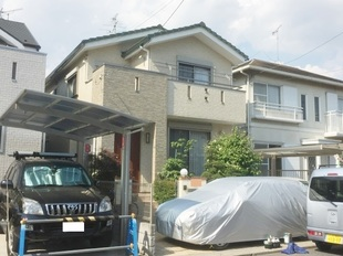 流山市K様邸 外壁塗装リフォーム後.JPG
