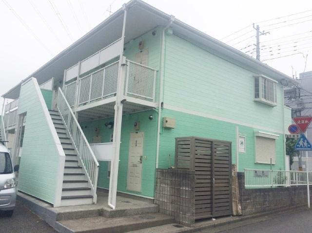 富士見市H様所有アパート 屋根外壁塗装リフォーム