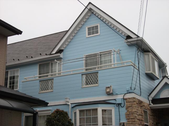 船橋市 屋根外壁塗装リフォーム N様邸