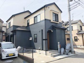 船橋市K様邸 屋根外壁塗装リフォーム 無機プラン