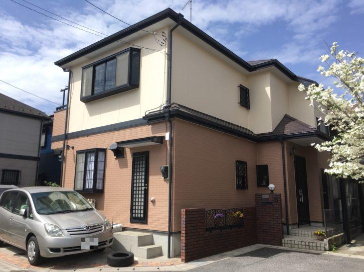 松戸市A様邸 屋根外壁塗装リフォーム