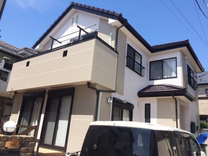 三郷市N様邸 屋根外壁塗装リフォーム