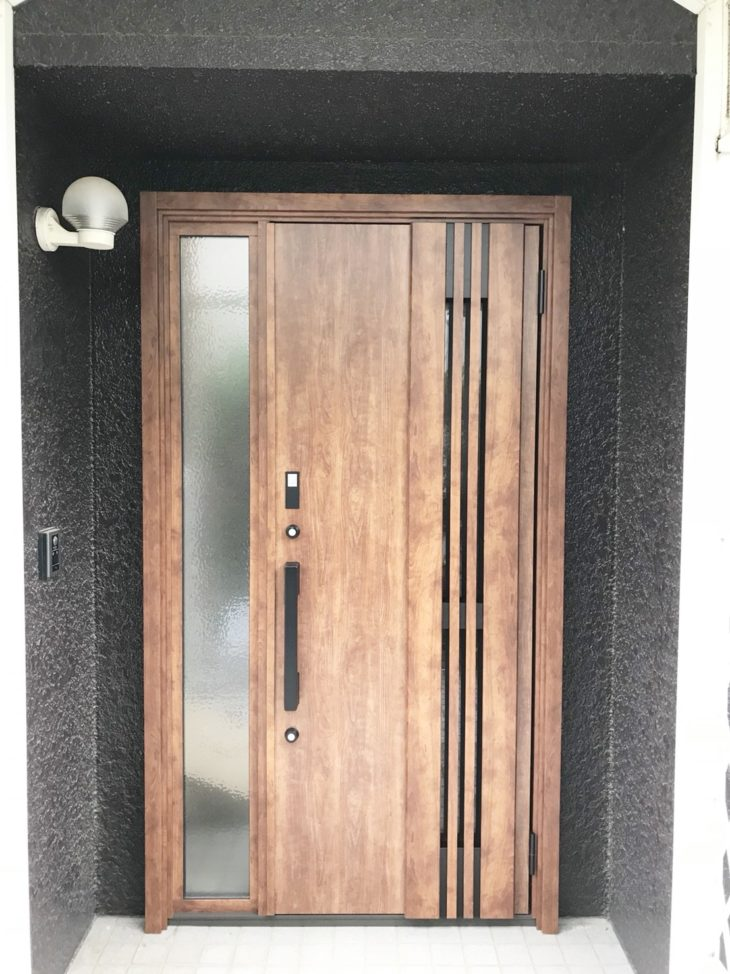 茨城県守谷市K様邸 玄関ドア交換リフォーム