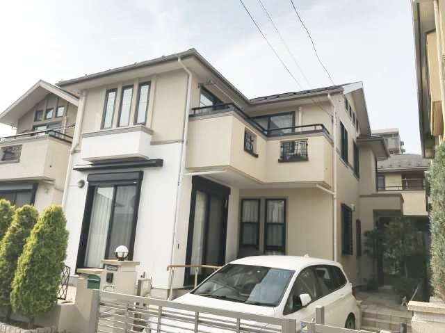松戸市N様邸 屋根外壁塗装リフォーム