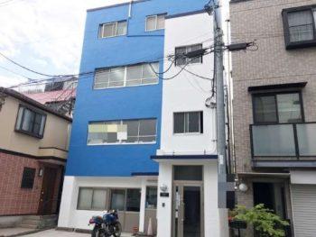 新宿区 ビル外壁塗装工事
