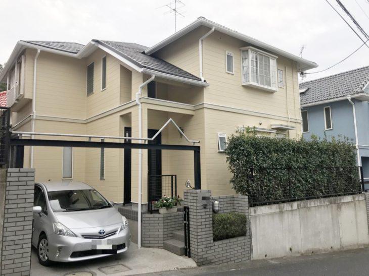 野田市T様邸 外壁塗装リフォーム