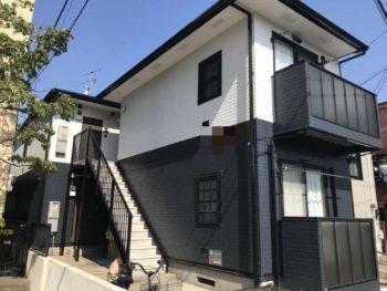 市川市T様所有アパート 屋根外壁塗装リフォーム