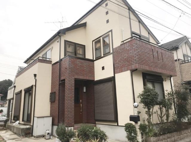 流山市S様邸 屋根外壁塗装リフォーム【超低汚染型無機フッ素プラン】