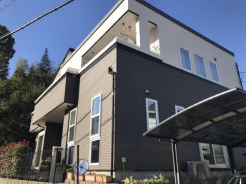 流山市S様邸 外壁塗装リフォーム