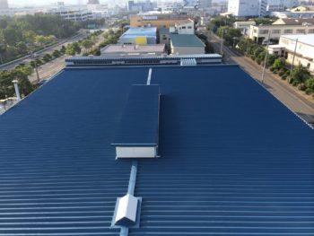 横浜市A工場様(工場棟・実験棟)屋根塗装工事