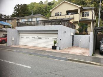 千葉市Y様邸 車庫塗装(コンクリート再生工法)