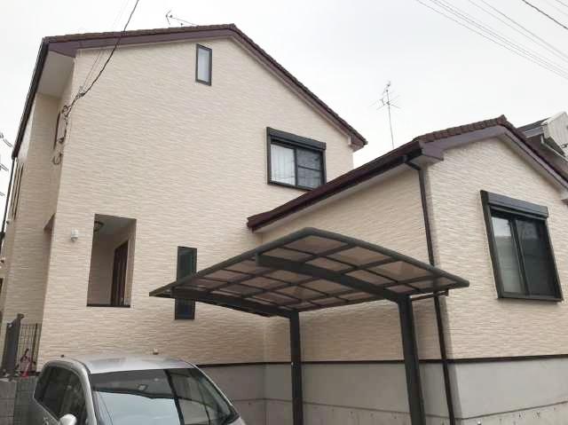 流山市K様邸 屋根カバー・外壁塗装リフォーム