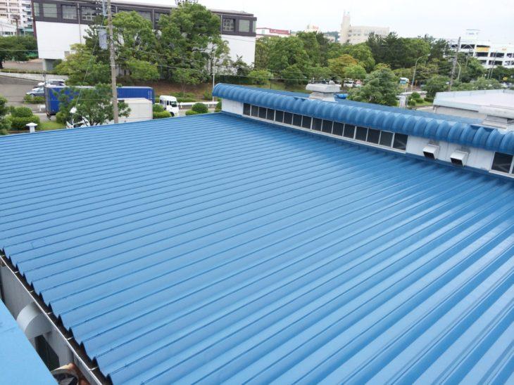 横浜市A工場(実験棟・工場棟)屋根塗装