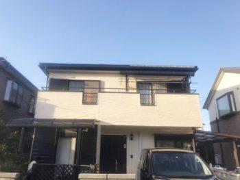 松戸市H様邸 屋根外壁塗装リフォーム