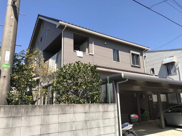 松戸市K様邸 外壁塗装リフォーム