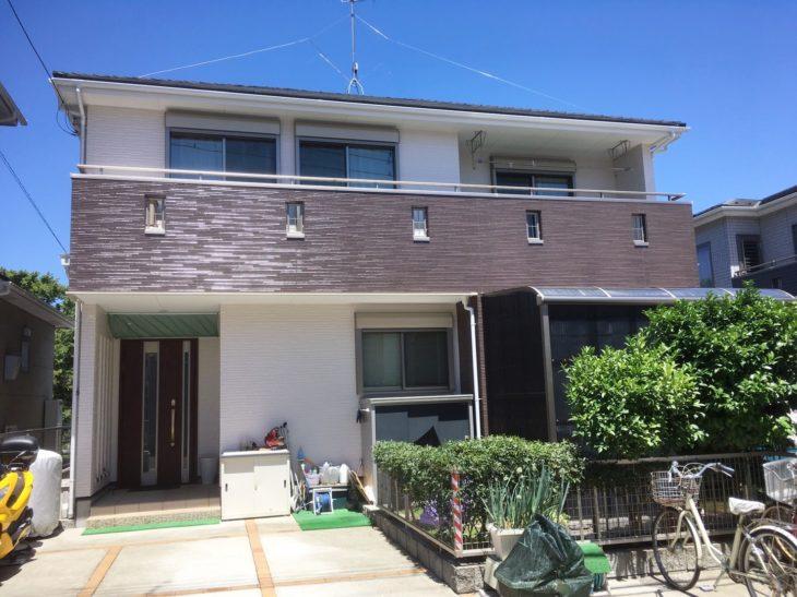白井市M様邸 屋根カバー・外壁塗装リフォーム