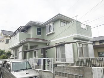 守谷市A様邸 屋根外壁塗装リフォーム【スタンダードプラン】