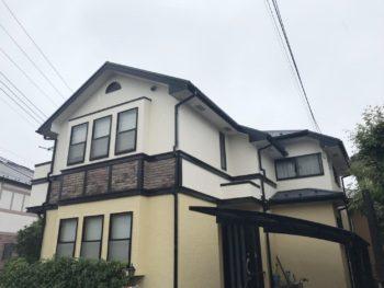 柏市F様邸 屋根外壁塗装リフォーム【プレミアムプラン】