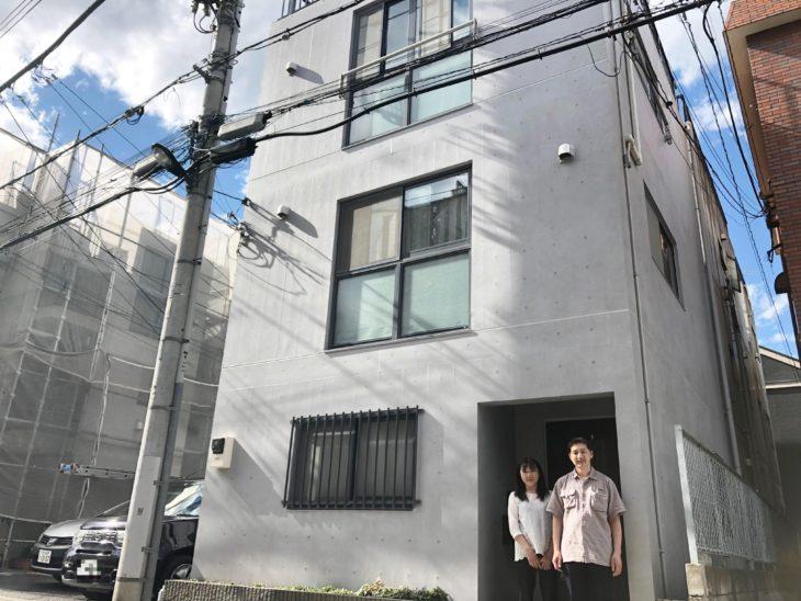 板橋区Y様邸 コンクリート再生塗装