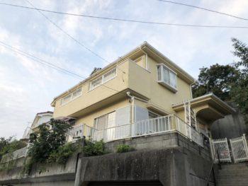 柏市R様邸 屋根外壁塗装リフォーム