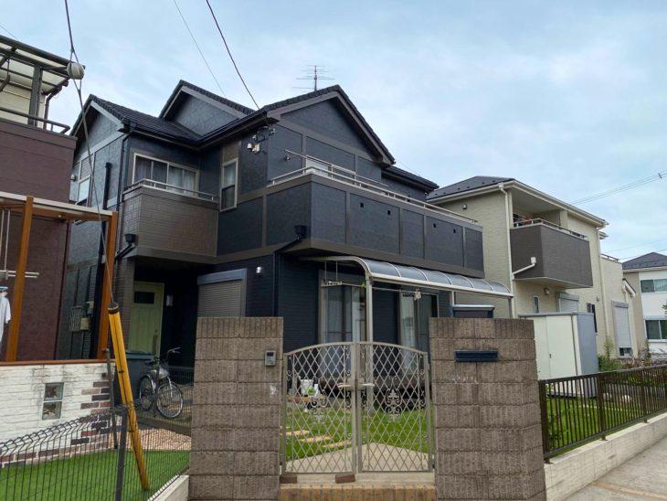 野田市K様邸 屋根カバー・外壁塗装リフォーム