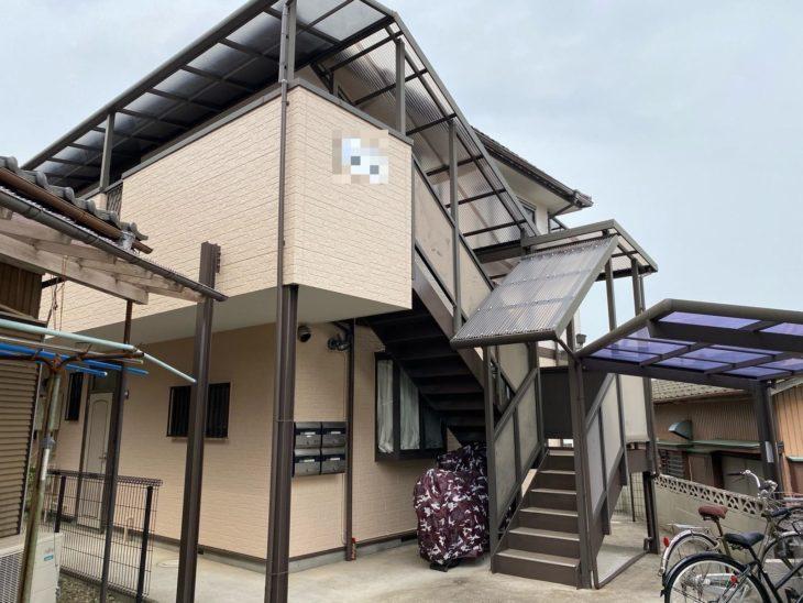 松戸市T様所有アパート 外壁塗装リフォーム