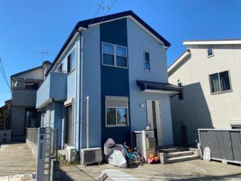 市川市K様邸 屋根外壁塗装リフォーム