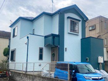 野田市M様邸 屋根外壁塗装リフォーム