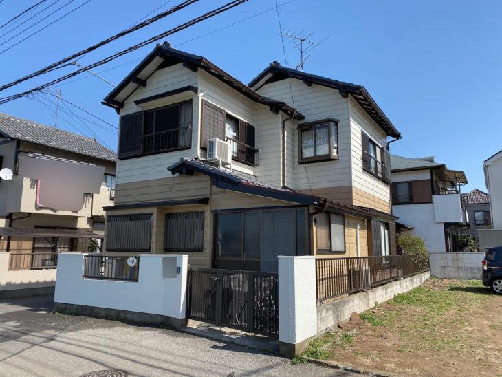 鎌ケ谷市S様邸 外壁塗装・屋根部分補修工事