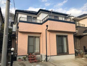 船橋市S様邸 屋根カバー・外壁塗装リフォーム(ダブルタッチ工法)
