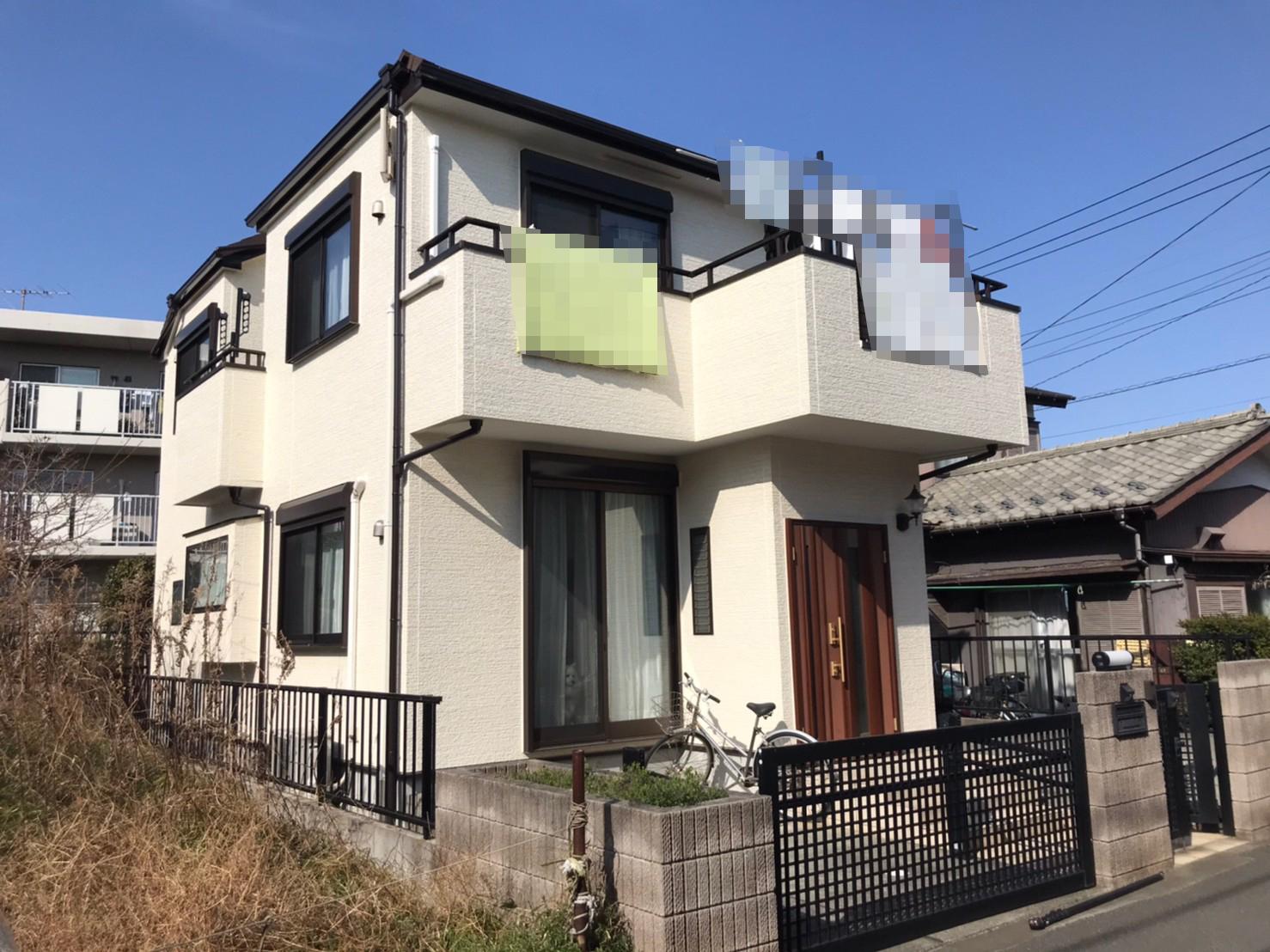船橋市にて屋根カバー・外壁塗装工事から2年点検