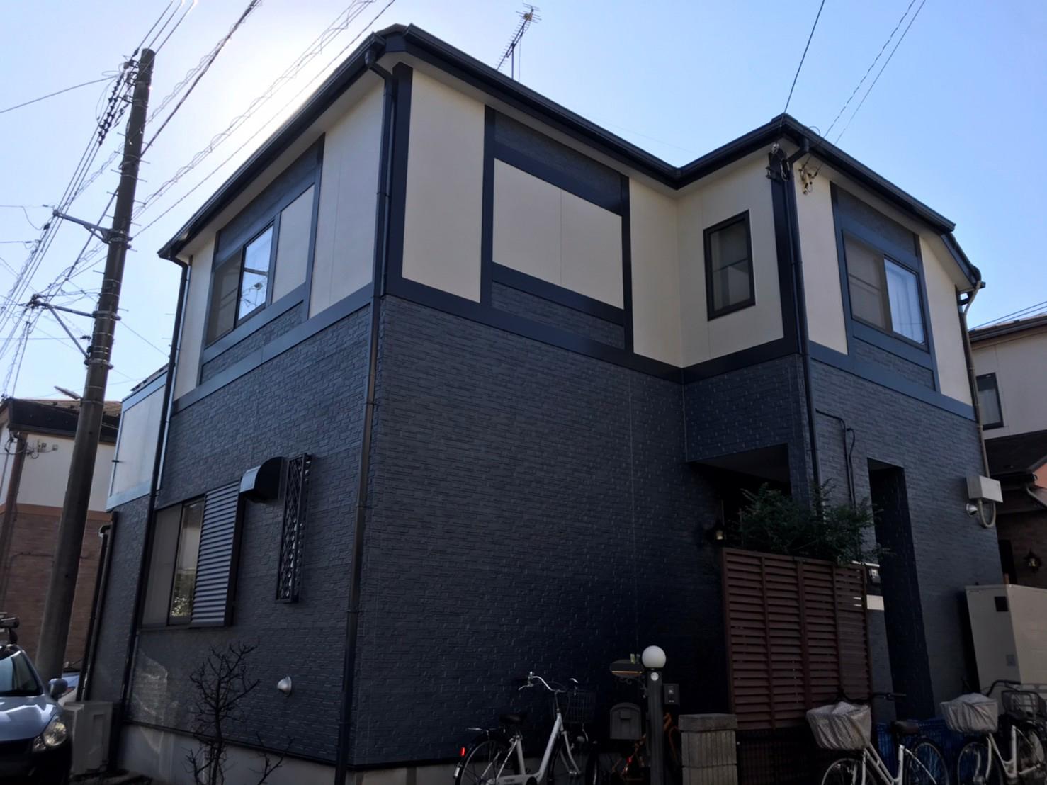 松戸市にて外壁塗装リフォームから1年点検